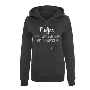 Hoodie coffee is the answer