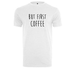 Herren Shirt but first coffee