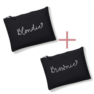 Clutch Blondie + Brownie SET