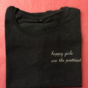 Shirt happy girls